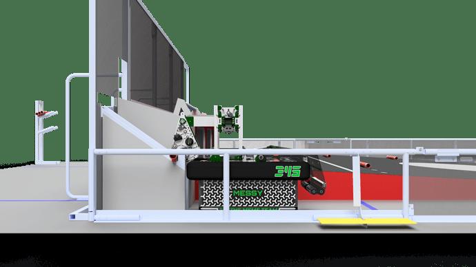 345-000 FUll Robot - Messy Grabbing Barricade
