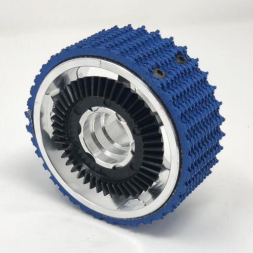Billet Wheel, 4D X 1.5W, Bearing Bore, With Gear Mounted