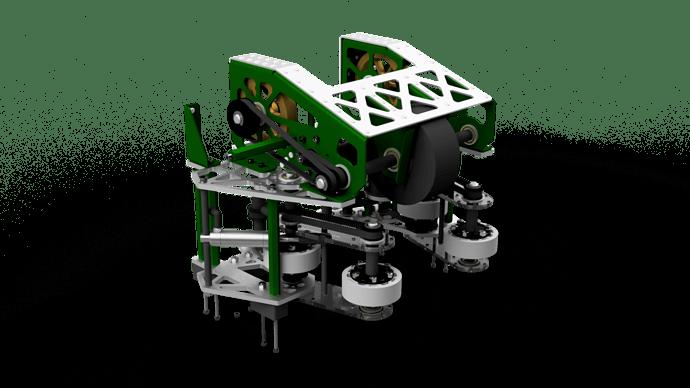 345-400 Ball Mech Assembly