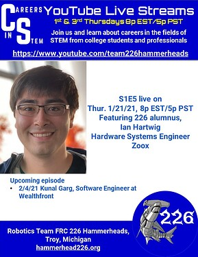Careers in STEM S1E5 - Ian Hartwig