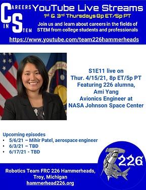 Careers in STEM S1E11 - Ami Yang