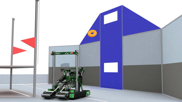 345-000 Robot on Field - Shooting donut