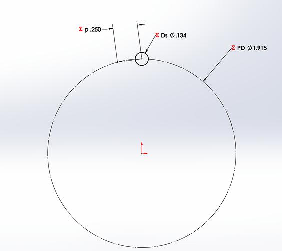 ANSI Circle and Chord