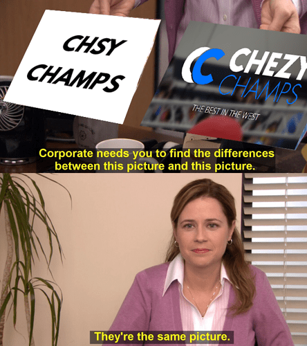 CHSY CHAMPS