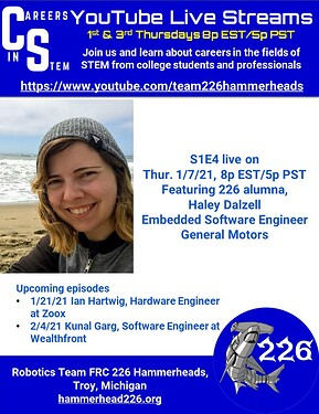 Careers in STEM S1E4 - Haley Dalzell