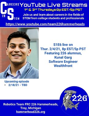 Careers in STEM S1E6 - Kunal Garg