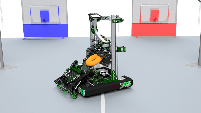 345-000 Robot on Field - DONUT Passoff