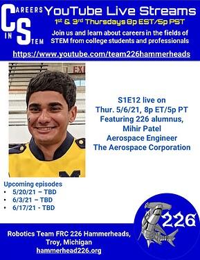 Careers in STEM S1E12 - Mihir Patel