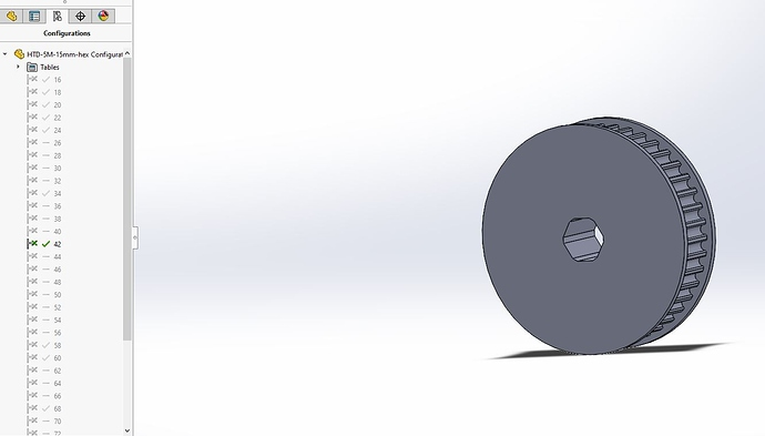 Pulley generator screenshot