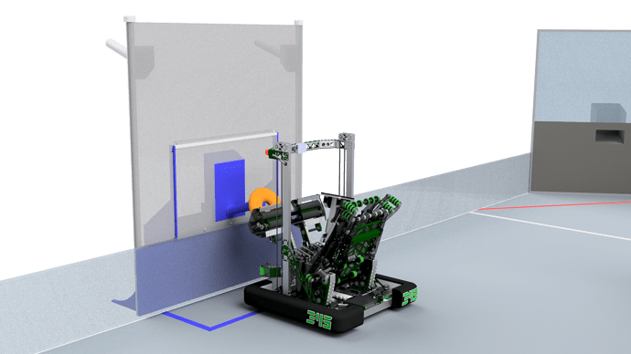 345-000 Robot on Field - Scoring DONUT