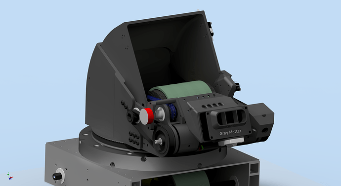 Printed Turret Bearing Assembly 1lr