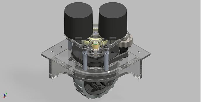 2910 MK2 Swerve Module, Versa Wheel