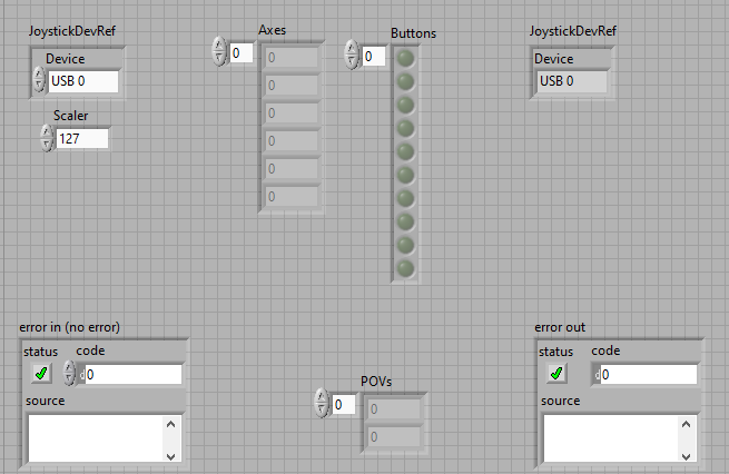 front panel for getvalues module-1