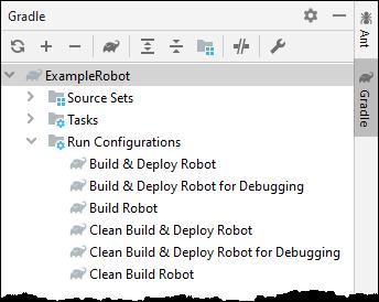 Gradle Run & Debug Configurations - Gradle Tool Window