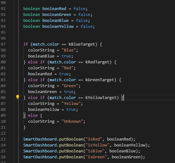 color block code
