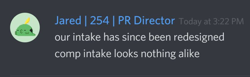 254Intake