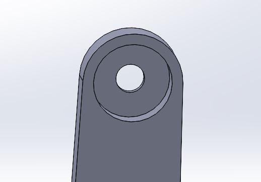 bearing mounting hole